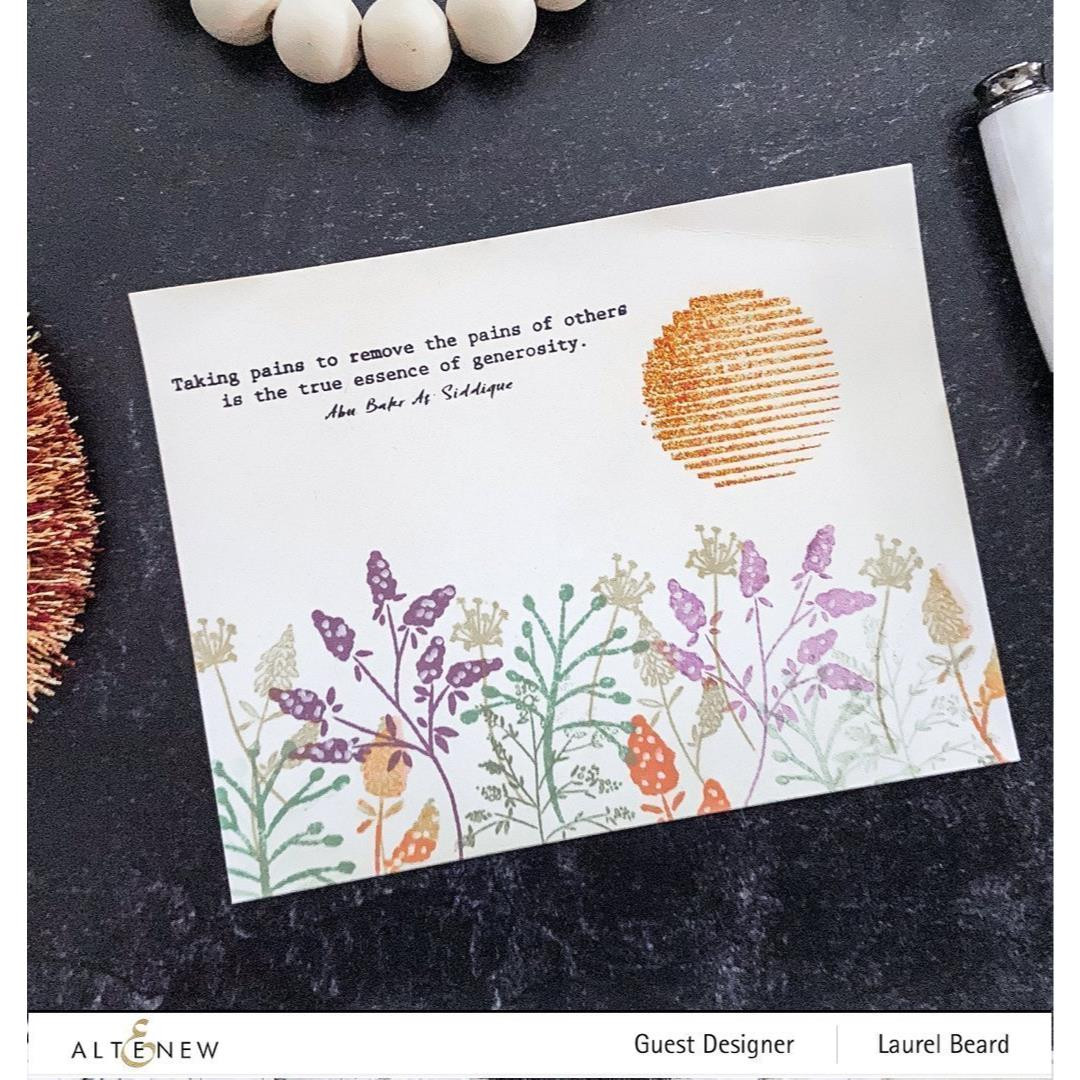 Wildflower Doodles, Altenew Clear Stamps - 737787261125