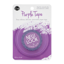 iCraft Purple Tape 1/2 in X 15 yds -