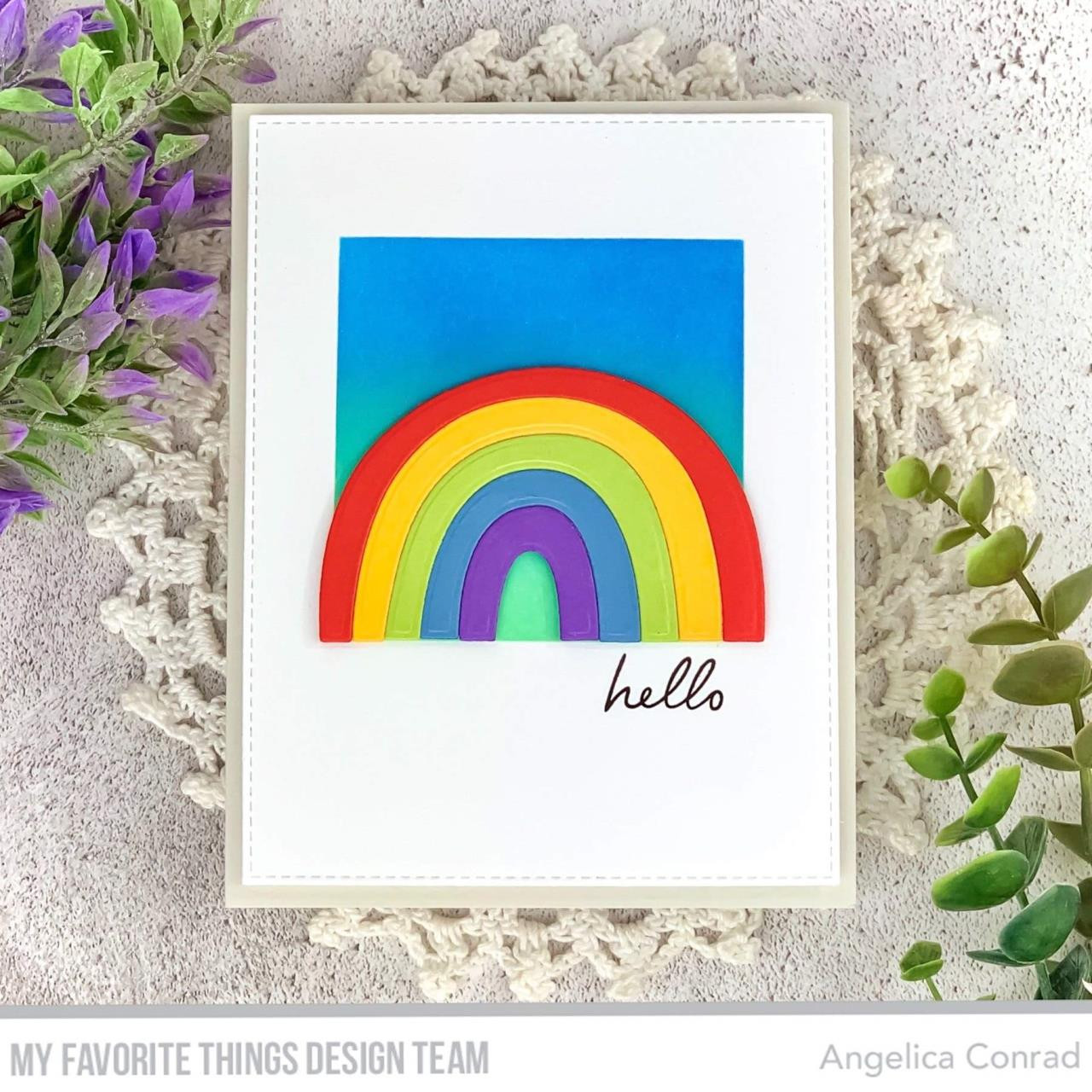 Rainbow Whimsy, My Favorite Things Die-Namics - 849923035016