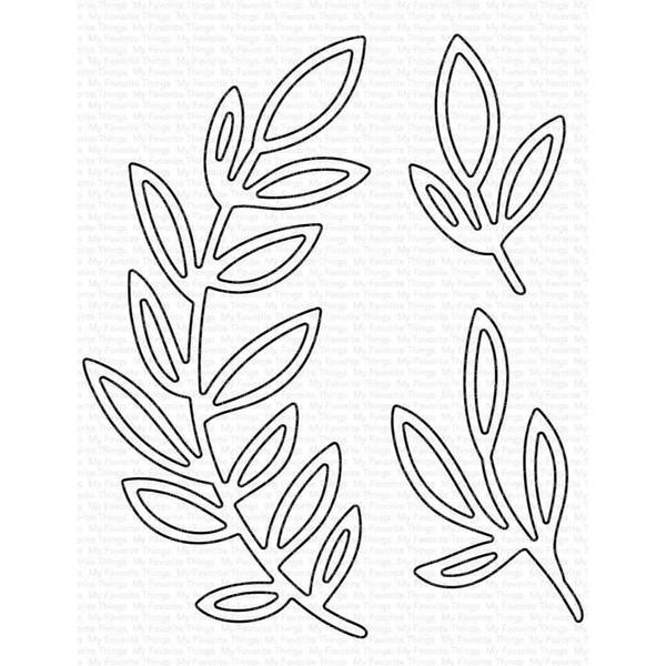 Grande Greenery - Outline, My Favorite Things Die-Namics - 849923035139