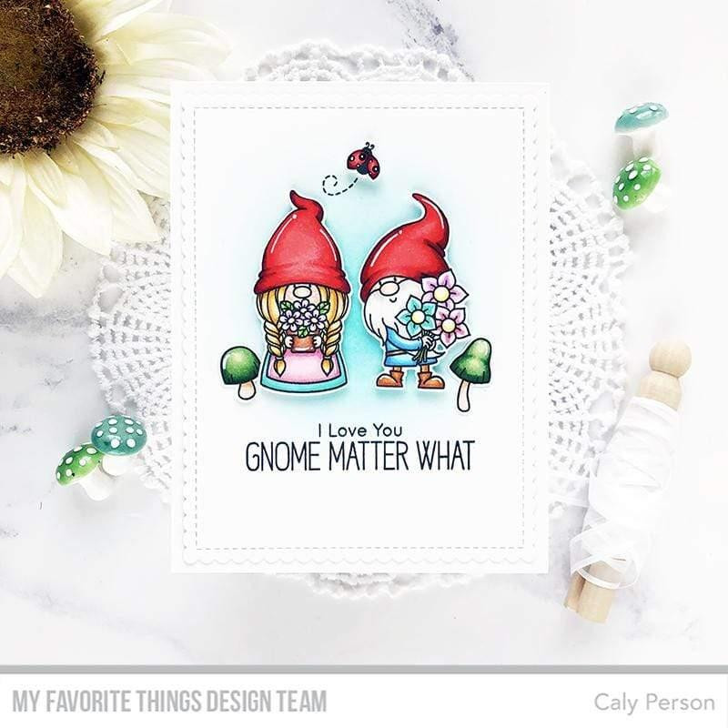 Hanging with My Gnomies by Birdie Brown, My Favorite Things Clear Stamps - 849923034866