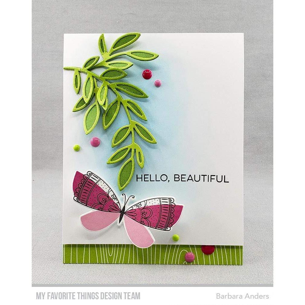 Brilliant Butterflies, My Favorite Things Clear Stamps - 849923034934