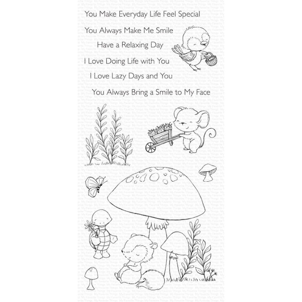 Always Bring a Smile by Stacey Yacula, My Favorite Things Clear Stamps - 849923034873