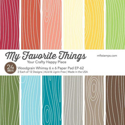 Woodgrain Whimsy, My Favorite Things Paper Pack - 849923034828