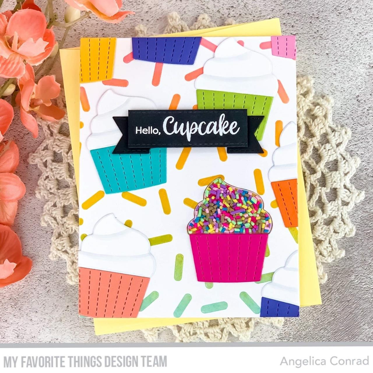 Cupcake, My Favorite Things Shaker Pouches - 849923034811