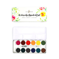 Essential 12 Pan Set, Altenew Watercolor Paint - 737787261552