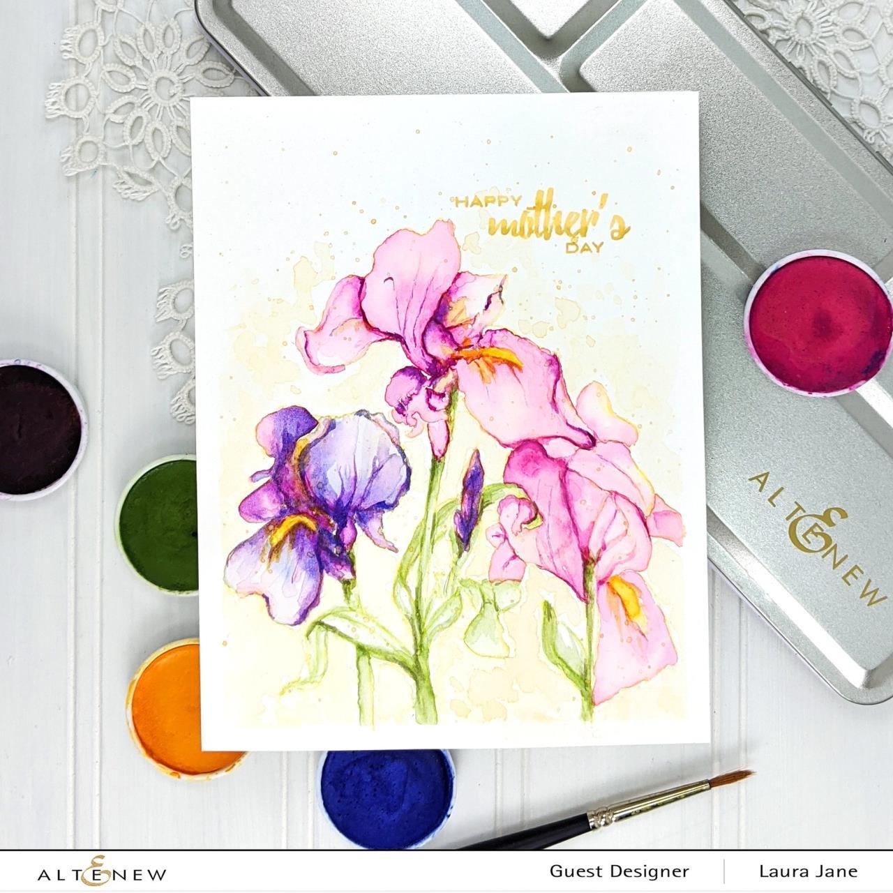 Essential 12 Pan Set, Altenew Watercolor Paint - 737787261552