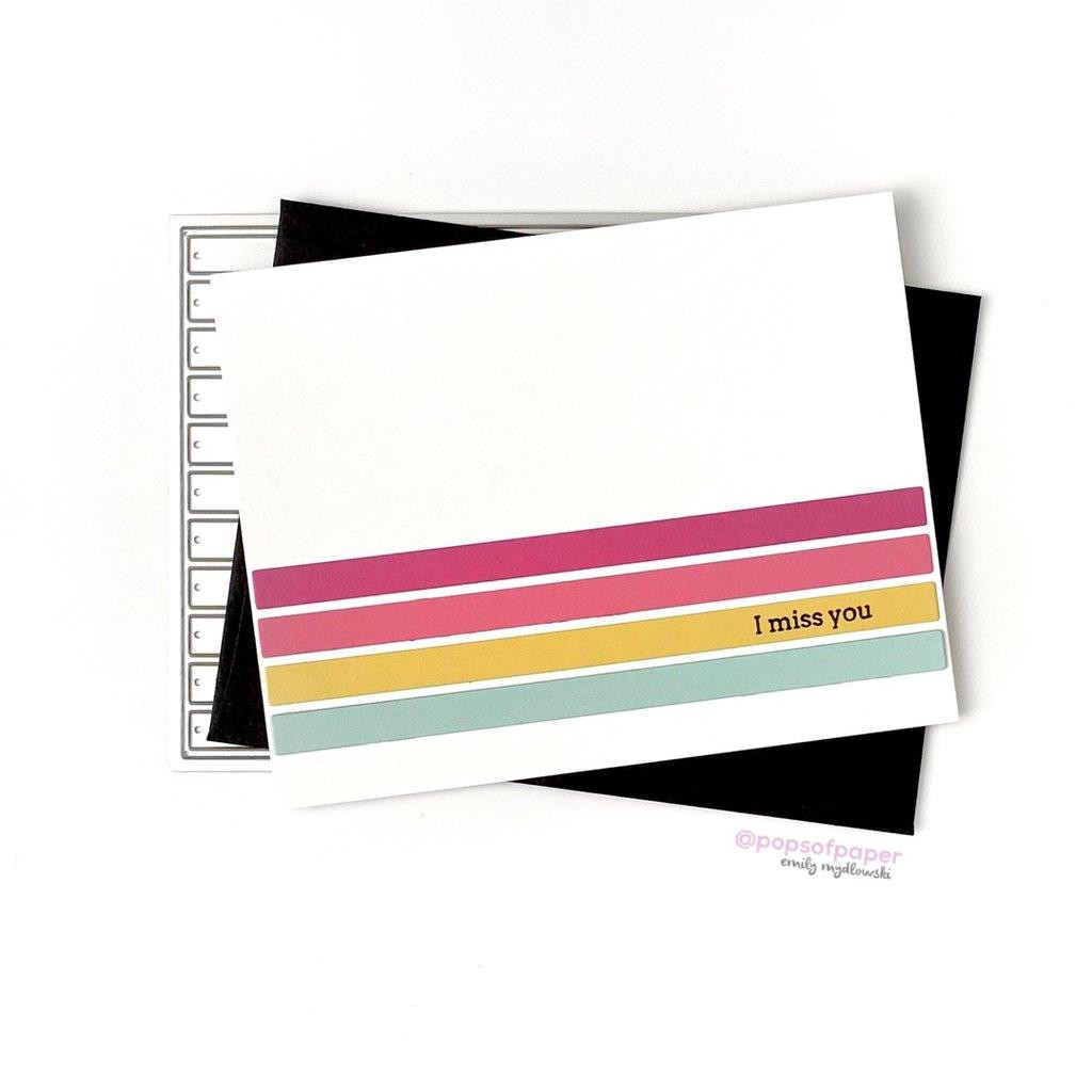 Color Block Stripes, Pinkfresh Studio Dies - 782150205343