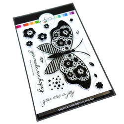 Wings of Joy, Catherine Pooler Clear Stamps - 819447025497