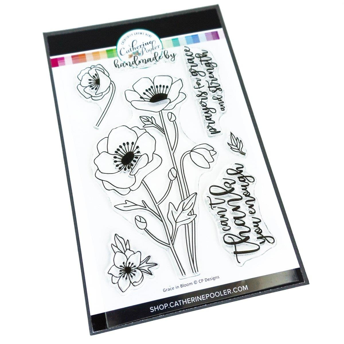 Grace in Bloom, Catherine Pooler Clear Stamps - 819447025770
