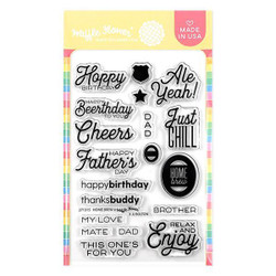 Home Brew, Waffle Flower Clear Stamps - 780348638461