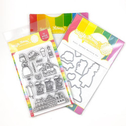 Prost Germany, Waffle Flower Stamp & Die Combo - 780348638683