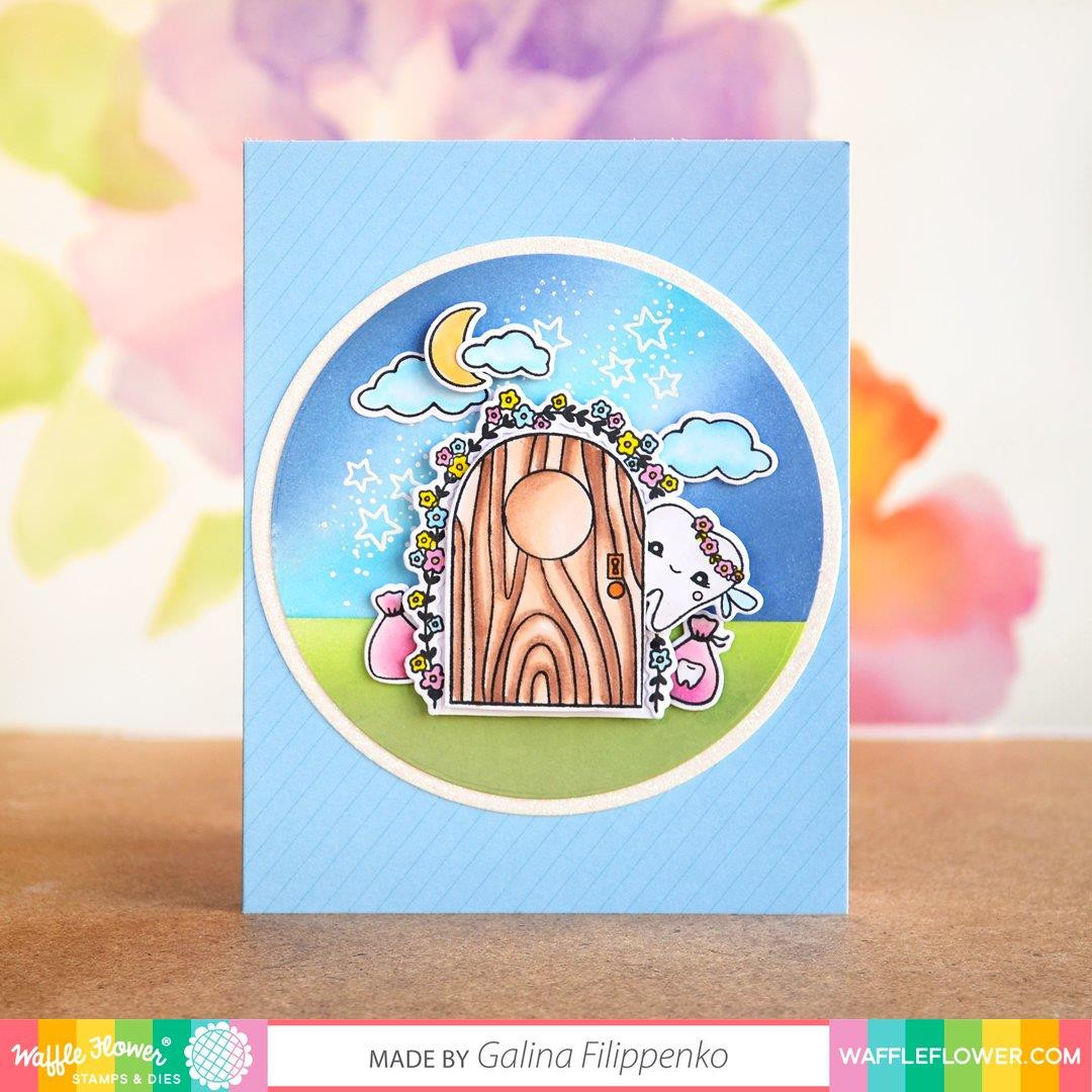 Tooth Fairy, Waffle Flower Stamp & Die Combo - 780348638638