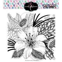 Daylily & Barberry, Colorado Craft Company Clear Stamps -