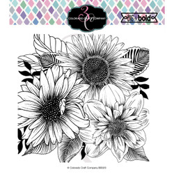 Daisy & Dahlia, Colorado Craft Company Clear Stamps -