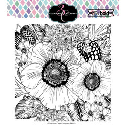 Anemone & Alium, Colorado Craft Company Clear Stamps (Retiring) -