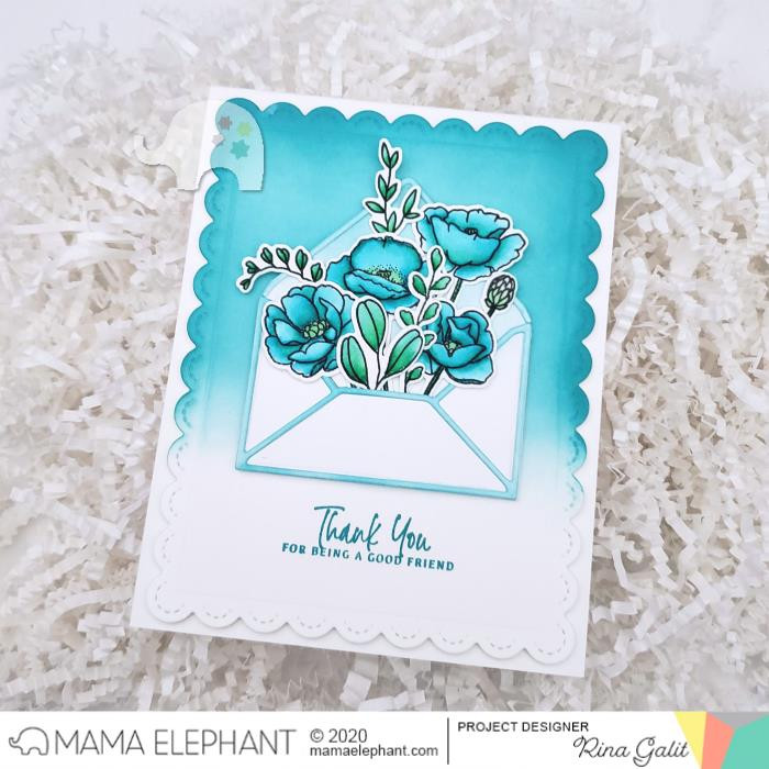 Stems and Sprigs, Mama Elephant Creative Cuts -