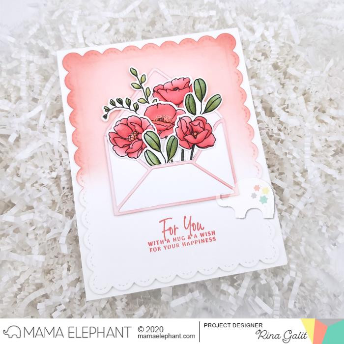 Stems and Sprigs, Mama Elephant Clear Stamps -