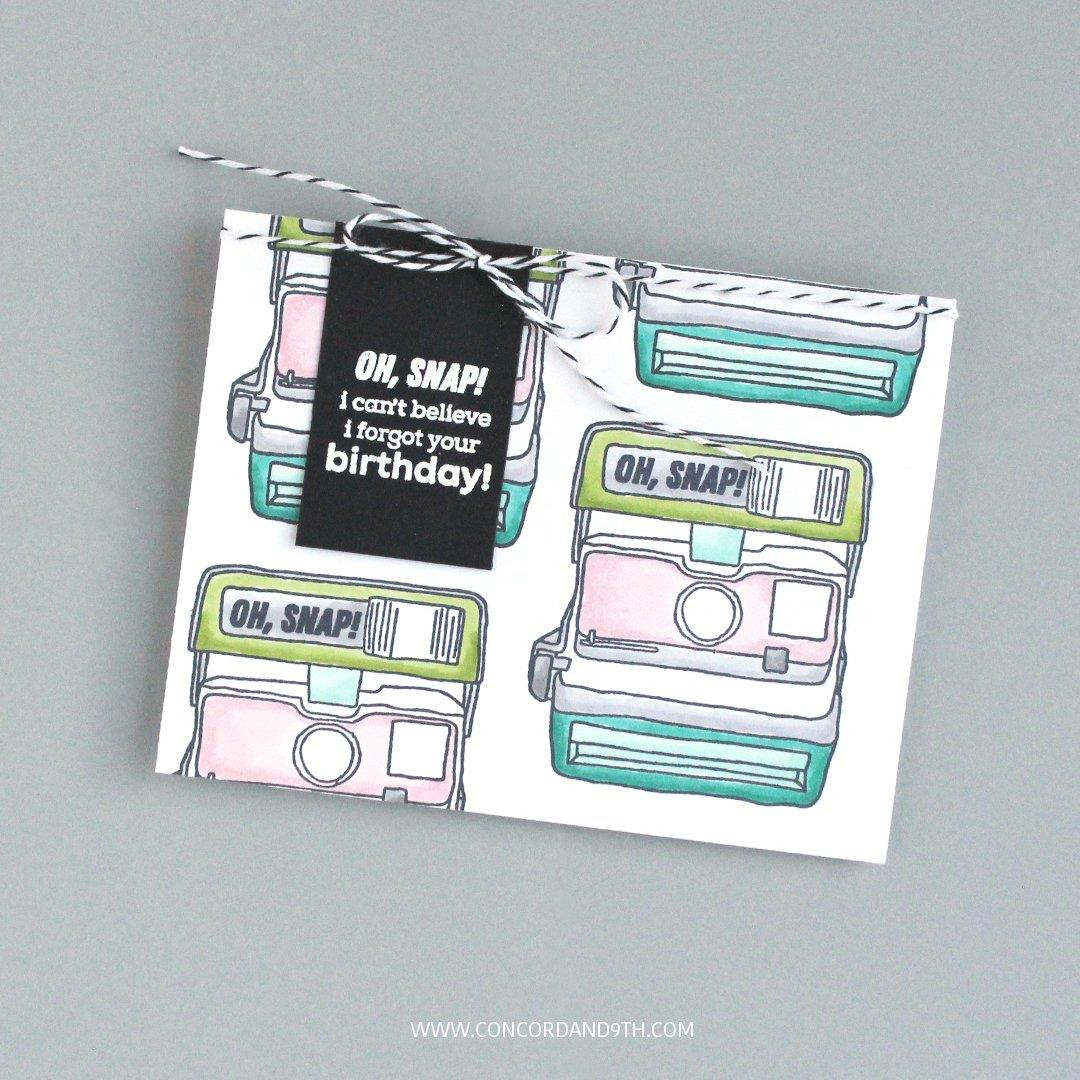 Oh, Snap!, Concord & 9th Clear Stamps - 090222401501