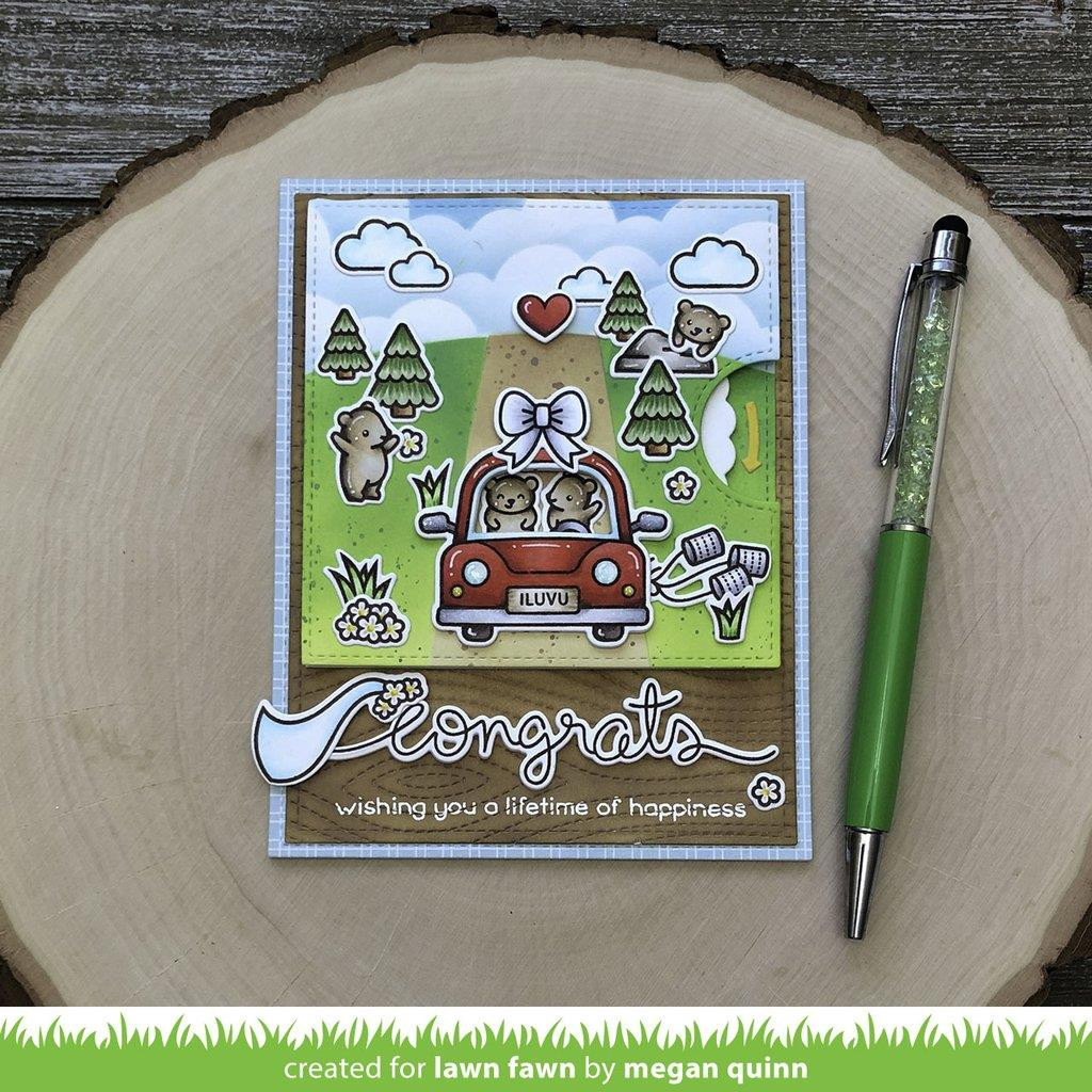 Car Critters, Lawn Fawn Clear Stamps - 352926756500