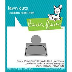 Reveal Wheel Car Critters Add-On, Lawn Cuts Dies - 352926756746