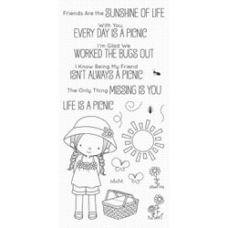 Every Day is a Picnic by Birdie Brown, My Favorite Things Clear Stamps - 849923035184