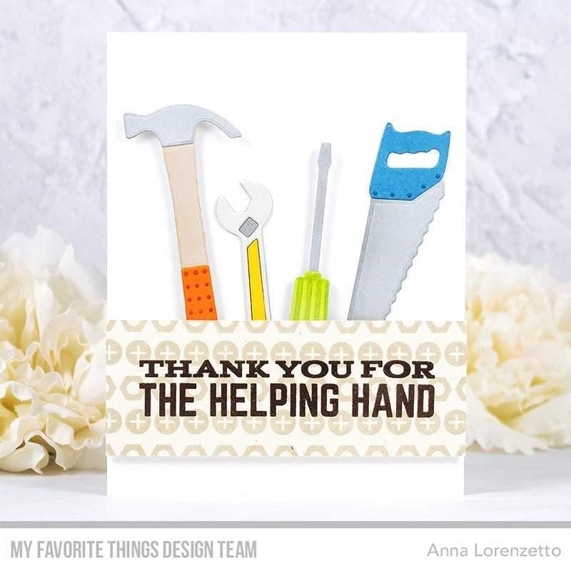 Let's Tool Around, My Favorite Things Clear Stamps - 849923035191