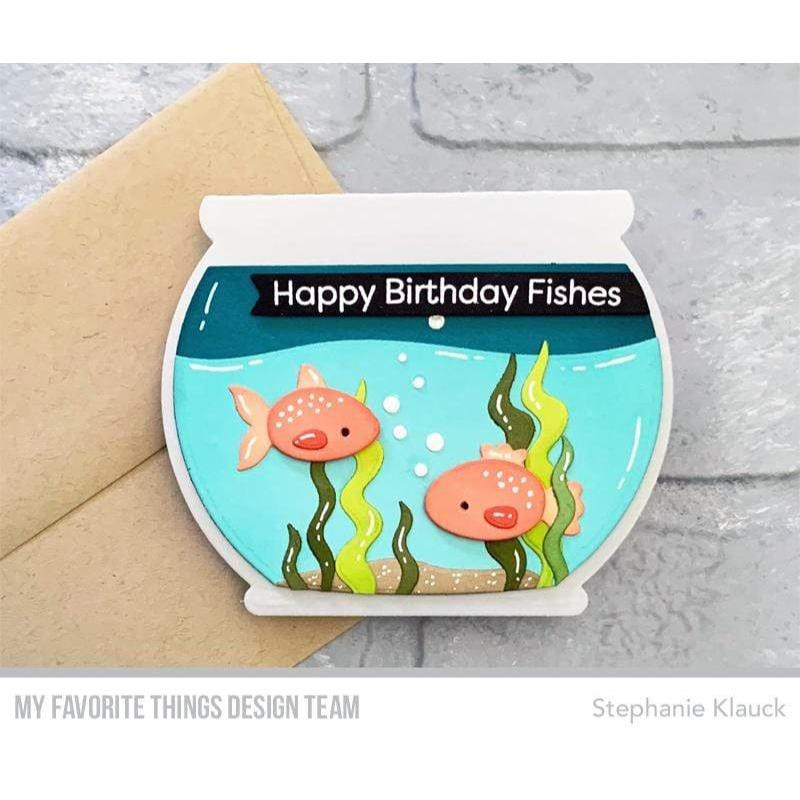 Fishbowl, My Favorite Things Die-Namics - Ellen Hutson LLC