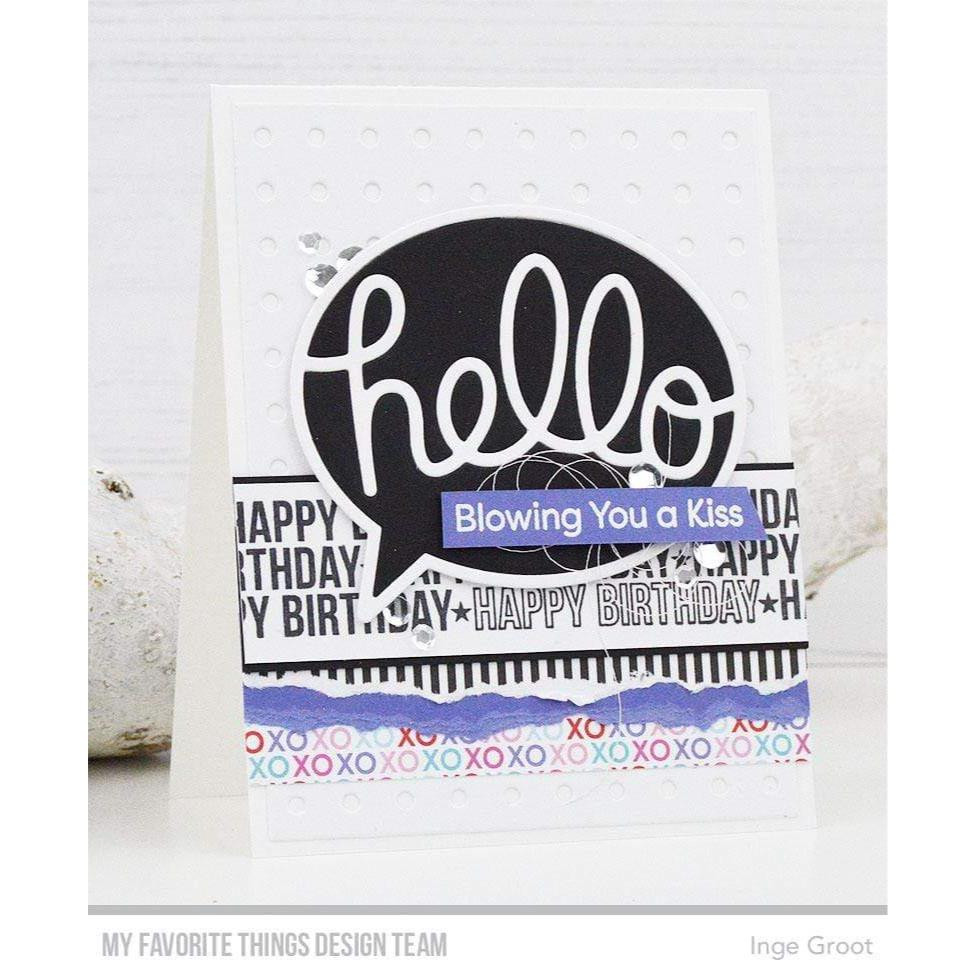 Spotlight Sentiments, My Favorite Things Clear Stamps - 849923035207