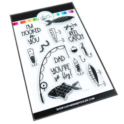 Fly Daddy, Catherine Pooler Clear Stamps - 819447026050