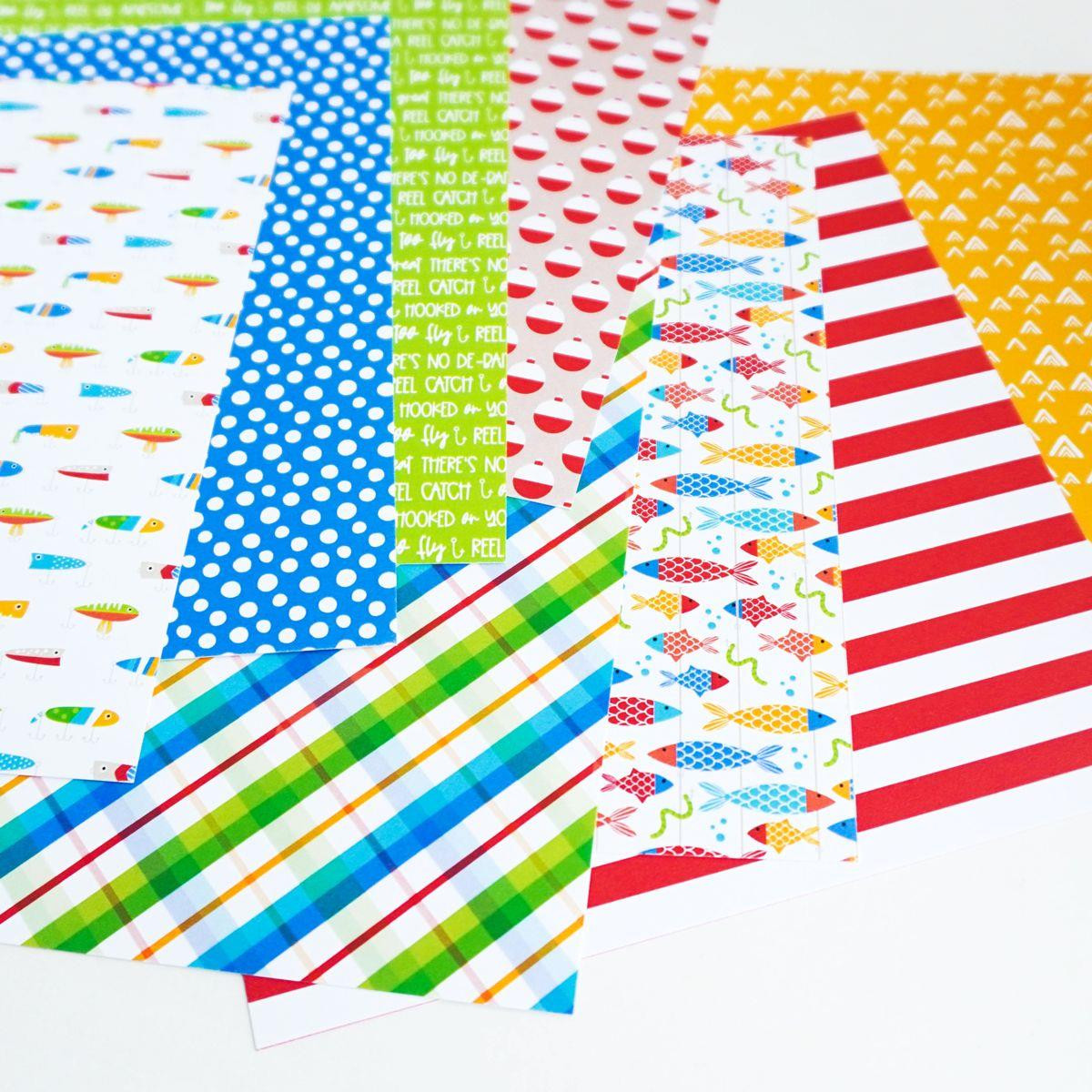 Too Fly, Catherine Pooler Patterned Paper - 819447026500