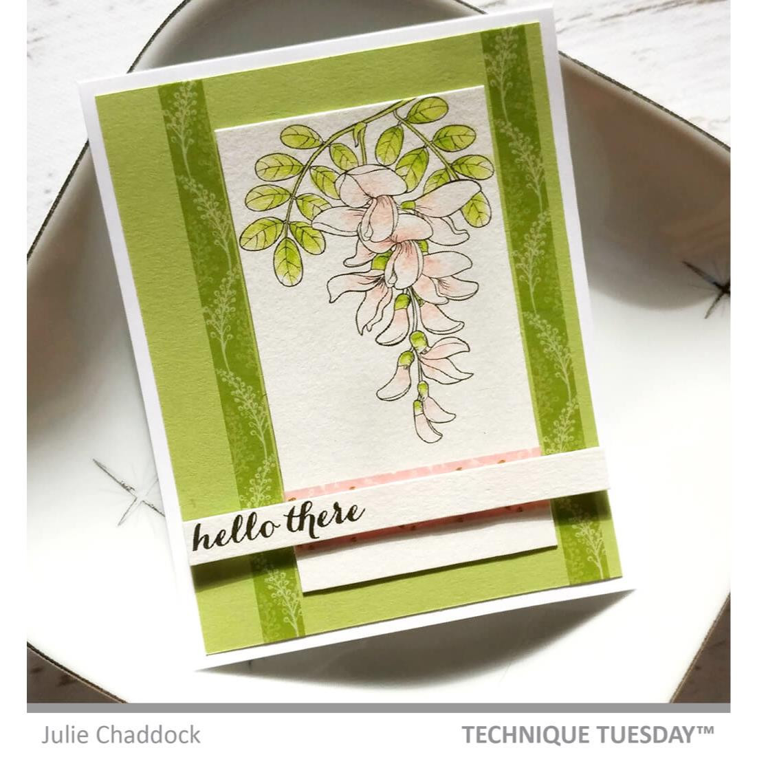 Cascading Flowers, Technique Tuesday Clear Stamps - 811784028452