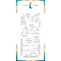 Dust Bunnies, Trinity Stamps Clear Stamps -