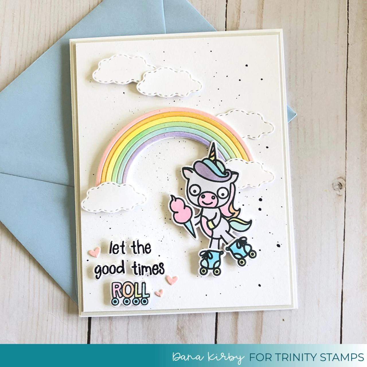 Let the Good Times Roll, Trinity Stamps Clear Stamps -
