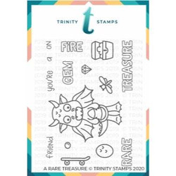 A Rare Friend, Trinity Stamps Clear Stamps -