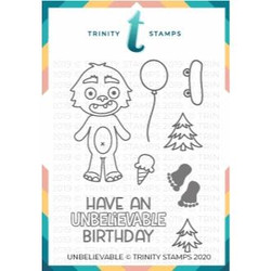 Unbelievable, Trinity Stamps Clear Stamps -