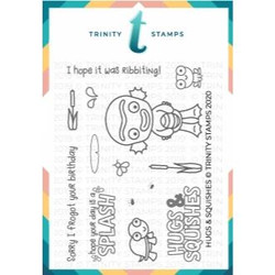 Hugs & Squishes, Trinity Stamps Clear Stamps -