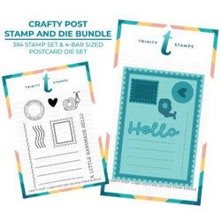 Crafty Post, Trinity Stamps Stamp & Die Set -