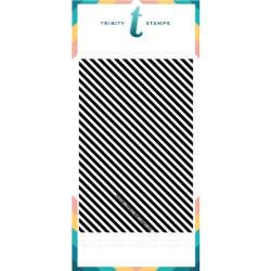 Slimline Stripes, Trinity Stamps Stencils -