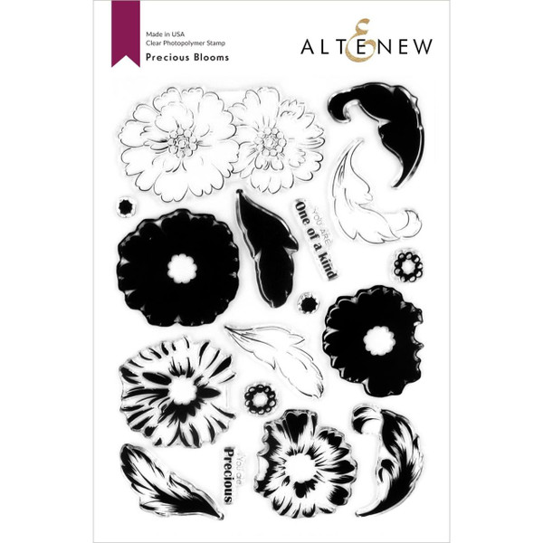 Precious Blooms, Altenew Clear Stamps - 737787262337