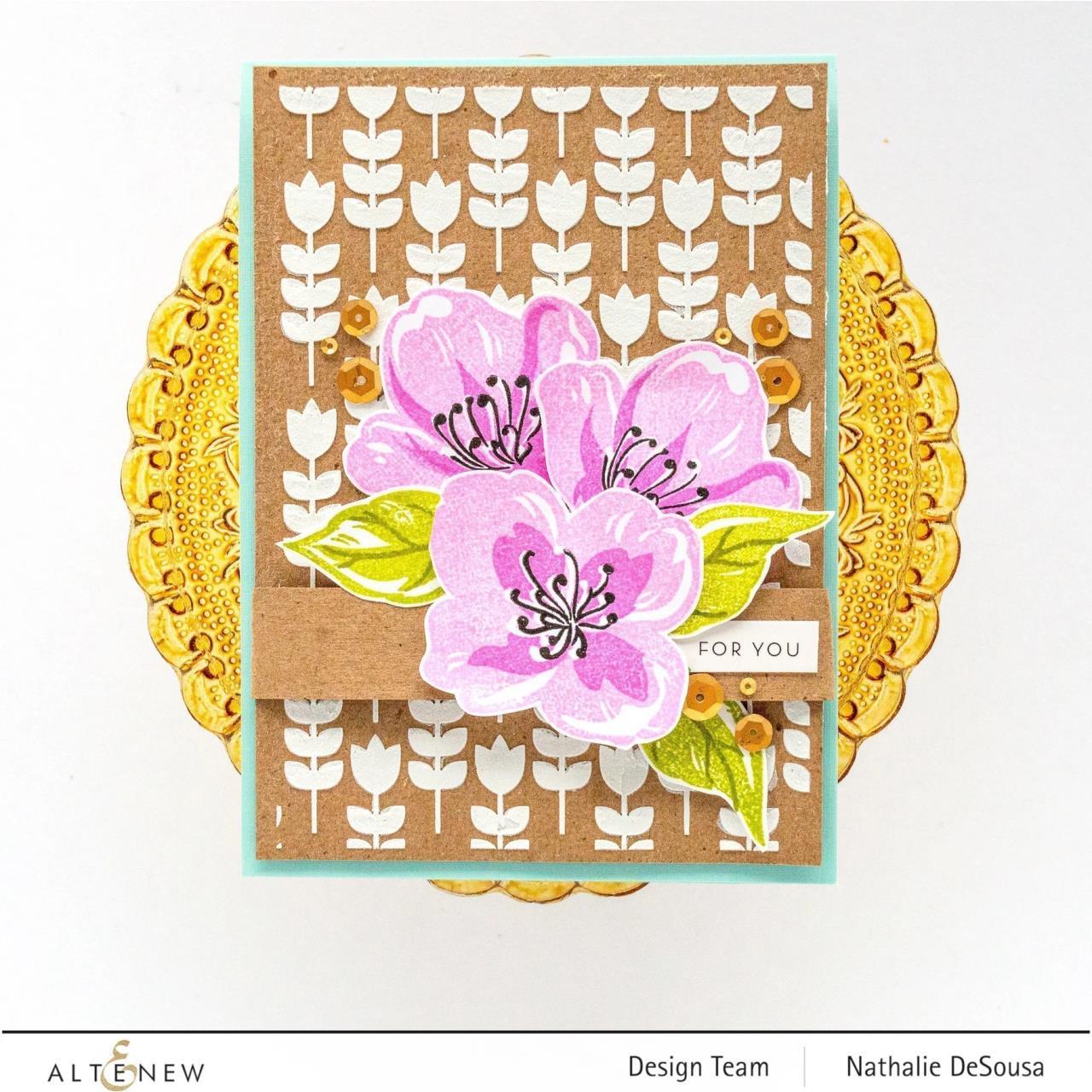 Zig Zag Floral, Altenew Dies - 737787262436