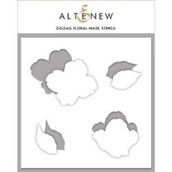 Zig Zag Floral, Altenew Mask Stencil - 737787262443