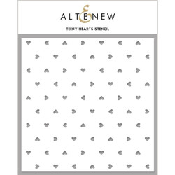 Teeny Hearts, Altenew Stencils - 737787262634