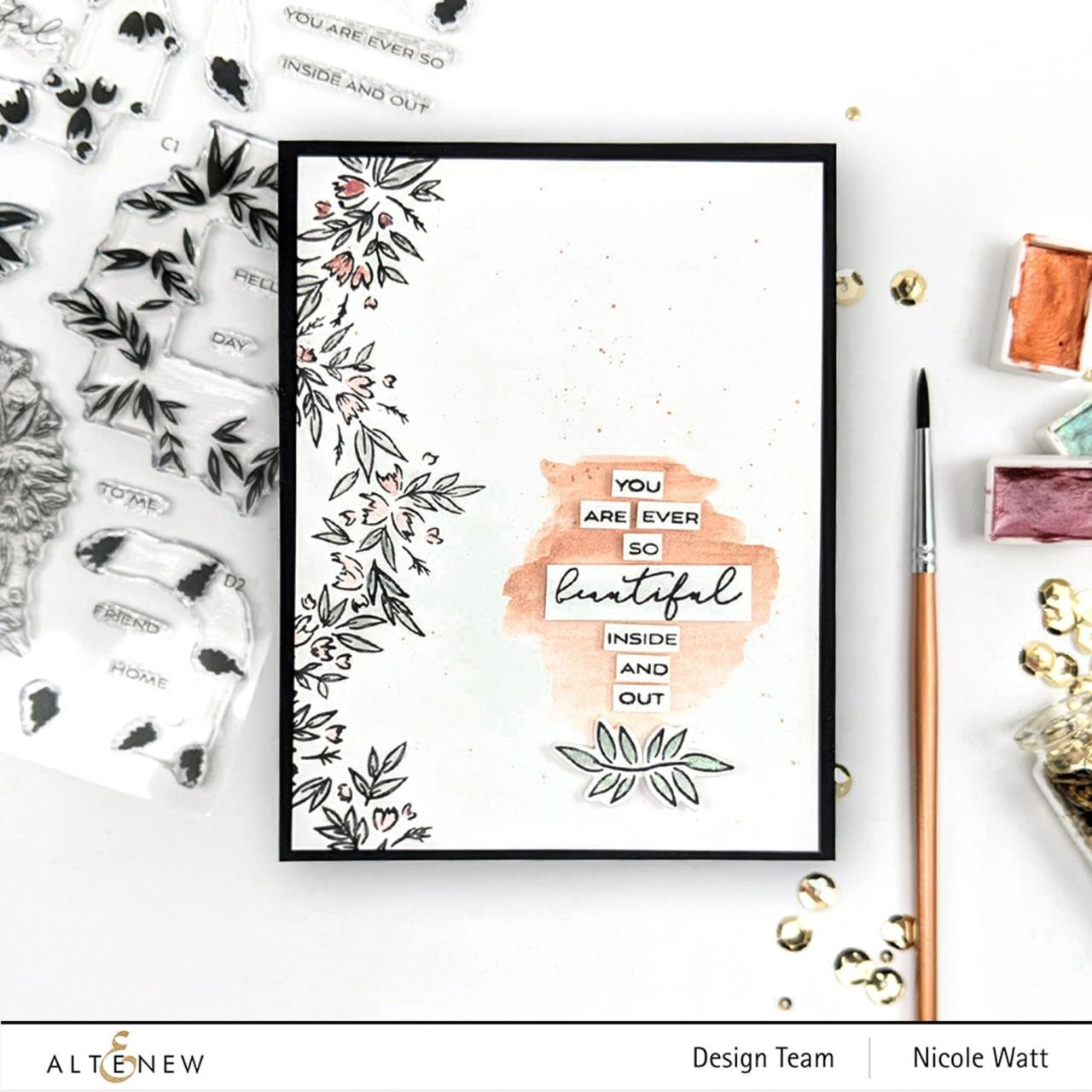 Blossom Wreath, Altenew Clear Stamps - 737787263631