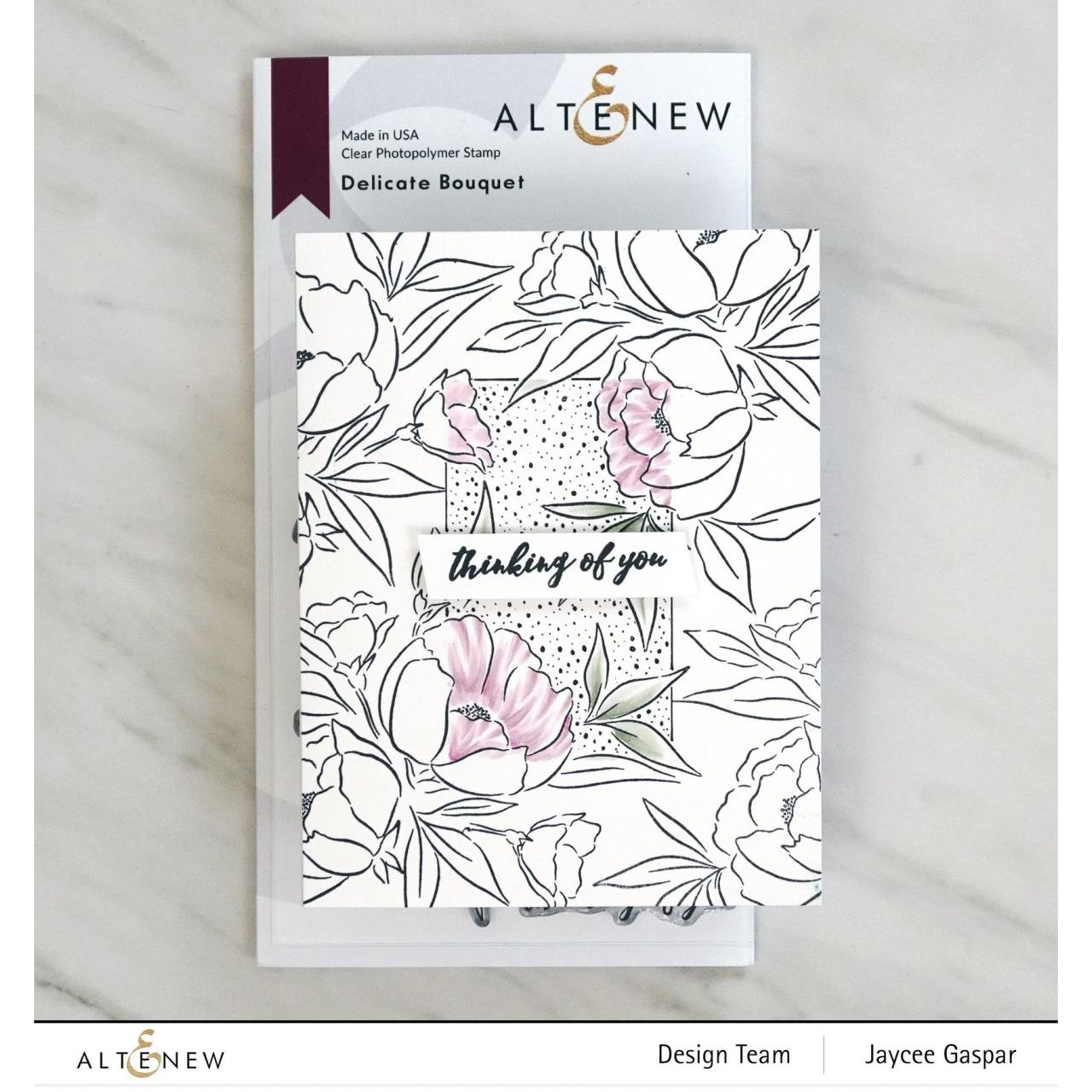 Delicate Bouquet, Altenew Clear Stamps - 737787263662
