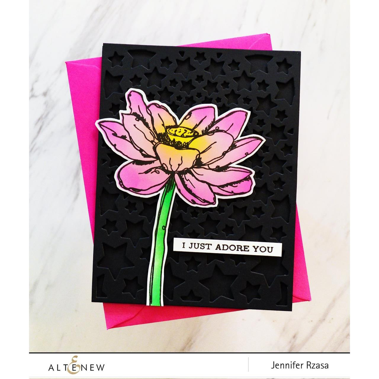 Inked Lotus, Altenew Dies - 737787263730