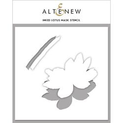 Inked Lotus, Altenew Mask Stencil - 737787263747