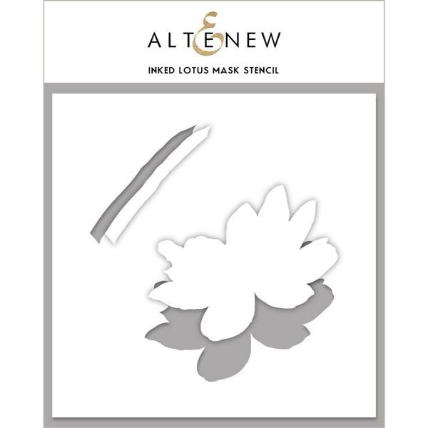 Inked Lotus, Altenew Mask Stencil - 737787263747