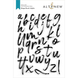 Mega Brush Alpha, Altenew Clear Stamps - 737787263778