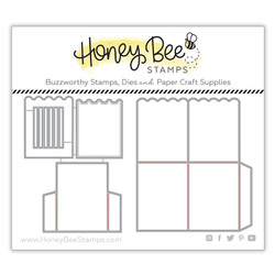 A2 Surprise Box Card Base, Honey Cuts Dies - 652827604215